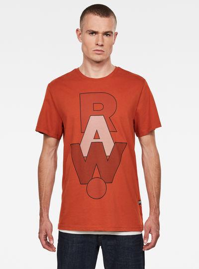 RAW. T-shirt Graphic