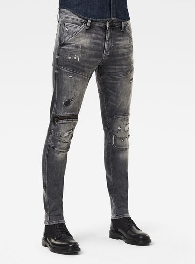 5620 3D Zip Knee Skinny Originals Jeans