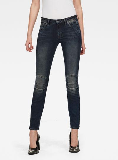 Jean 5622 Zipper Mid Skinny