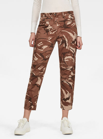 Army Radar Mid Boyfriend Ankle Pants