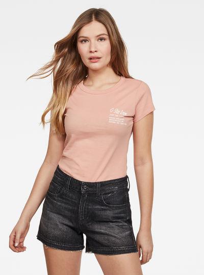 T-shirt Rei Slim