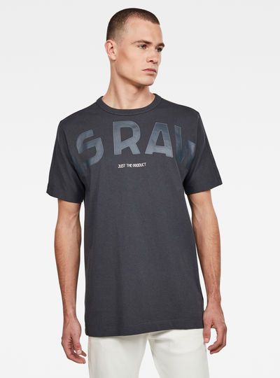 T-shirt Gsraw Back Camo Allover GR