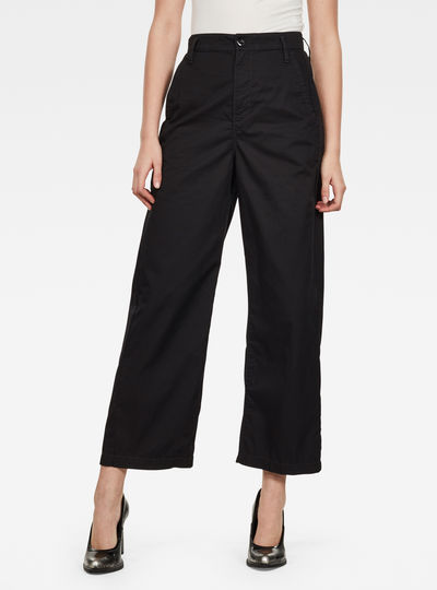 Pantalon Vitrif High Wide Leg