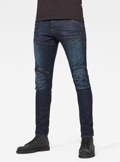Jean 5620 3D Zip Knee Skinny
