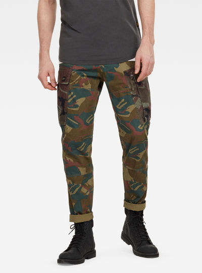 Pantalon cargo Roxic Straight Tapered