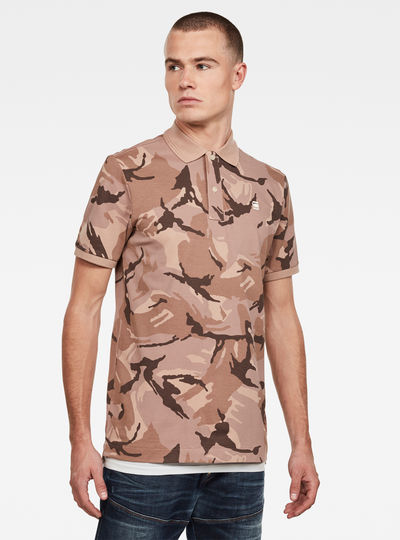 Camo Allover Slim Polo