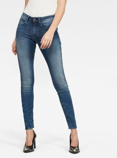 Jeans 3301 Mid Skinny