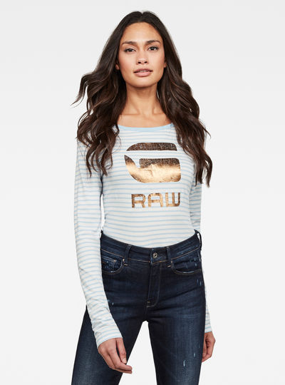 Graphic 21 Striped T-Shirt