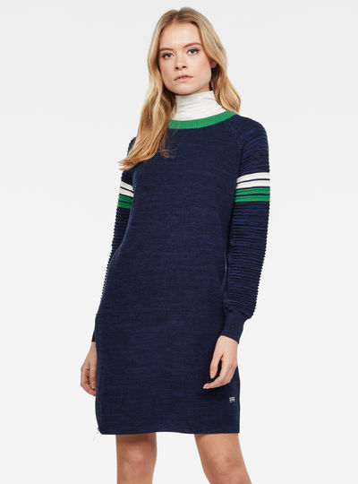 Suzaki Stripe Knit Dress