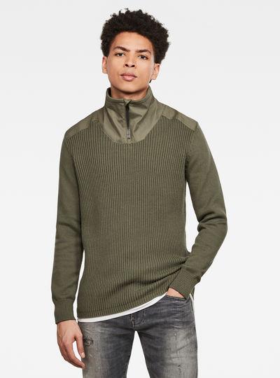 Dast Half Zip Sweater