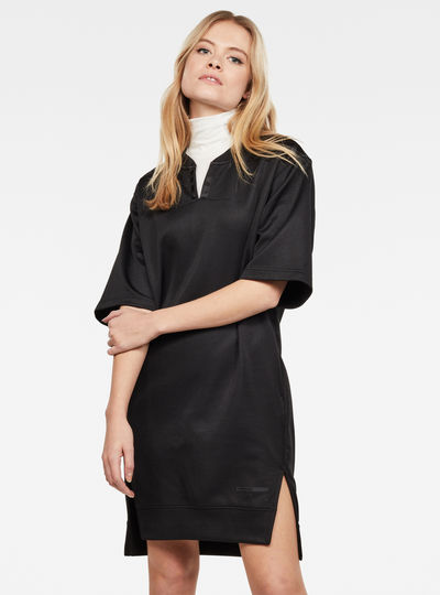 Utility Cocaux Boyfriend Long Sweat Dress