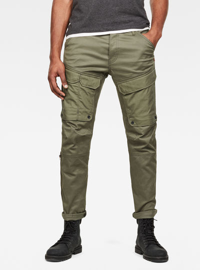 Front Pocket Slim Cargo Pants