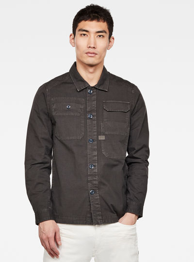 Chemise Multipocket Straight