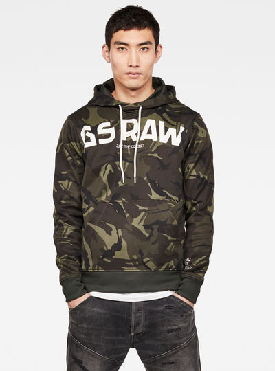 Gsraw GR Hooded Sweatshirt