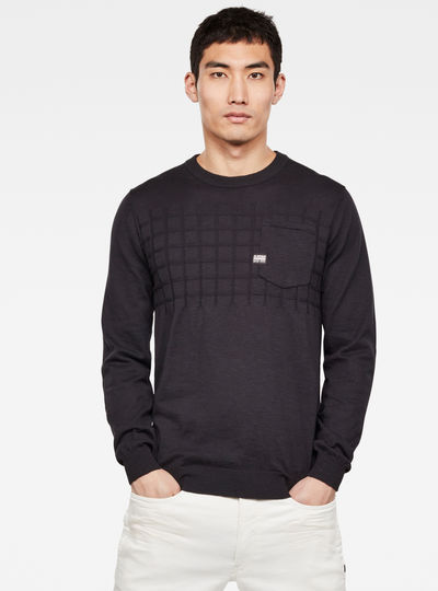 Pocket Knitted Pullover