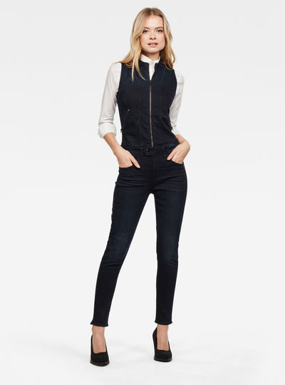 Lynn 2-Zip Slim Jumpsuit