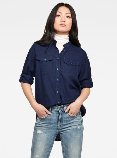 Parota Classic Boyfriend Overhemd