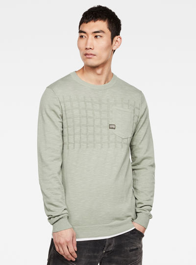 Sweat Pocket Knitted