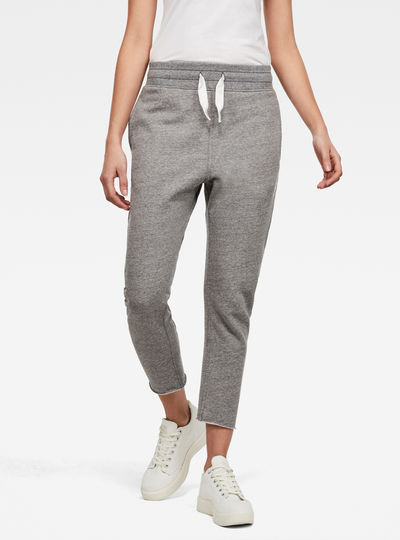 3D Tapered Cropped Jogginghose
