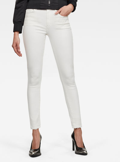 Jean 3301 High Skinny Ripped Edge Ankle