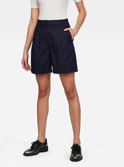 Shorts Pleated High