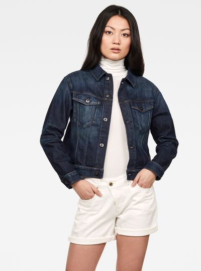 Veste 3301 Straight Denim C