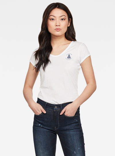 Circle GR Eyben Ringer Slim Top