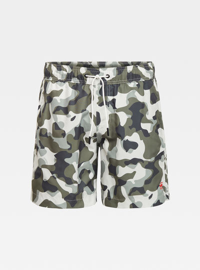 Dirik Side Panel Swimshorts Allover