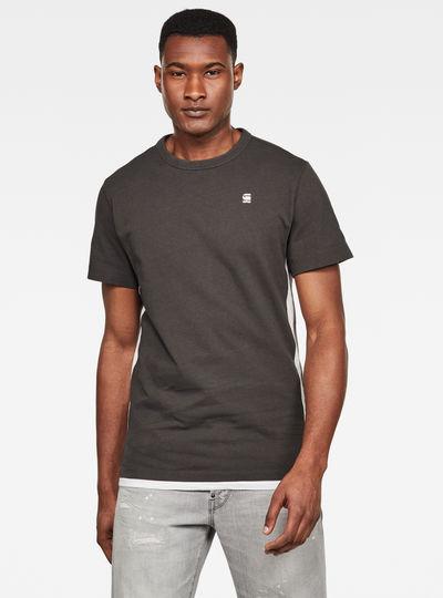 Side Stripe GR Round Neck T-Shirt