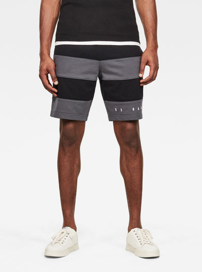 Premium Block Stripe Shorts