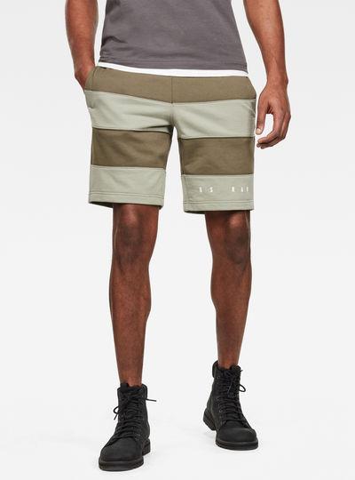 Short Premium Block Stripe
