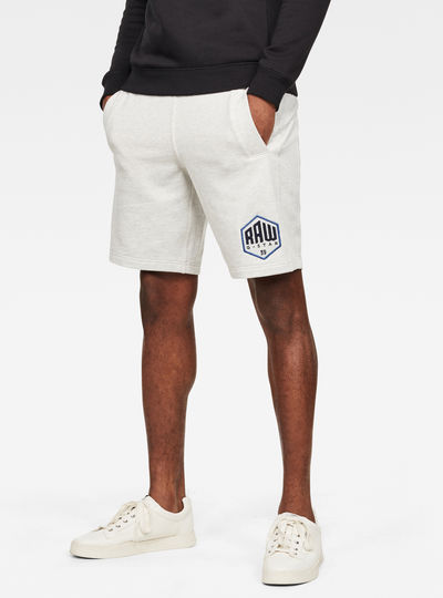 Graphic Non Logo Sweat Shorts