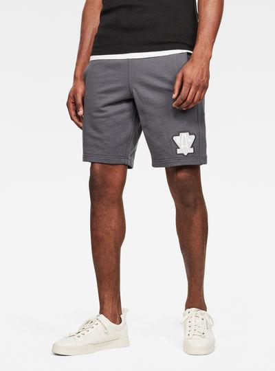 Graphic Non Logo Sweat Shorts
