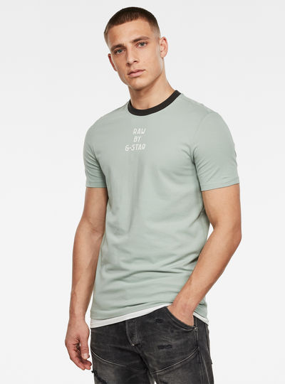 Text GR Slim T-Shirt