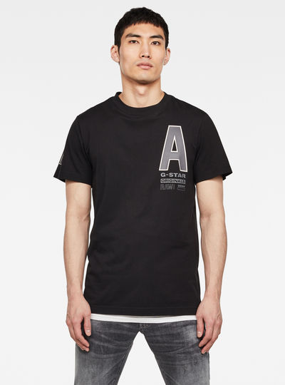 T-shirt Multi Space RAW GR