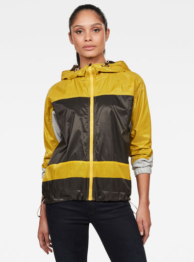 Colourblocked Jacke