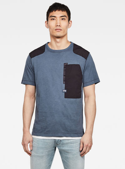 New Arris Pocket Round Neck T-Shirt