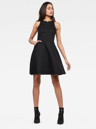 Core fit and flare Dress