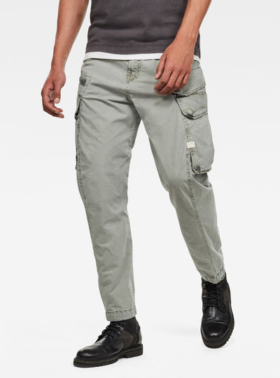 Pantalones Droner Relaxed Tapered Cargo
