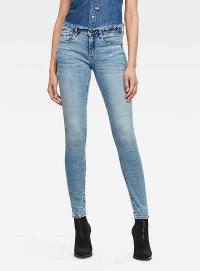 3301 Mid Skinny Jeans