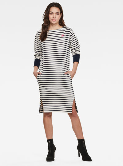 Xzyph Yarn Dyed Stripe Dress