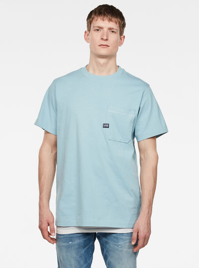 Pocket Loose Round Neck T-Shirt