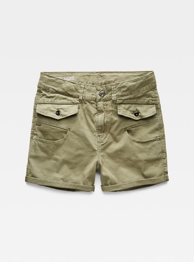 Army Radar Boyfriend Shorts