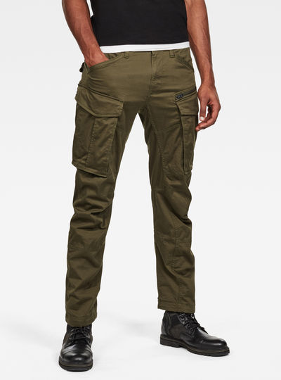 Rovic Zip 3D Tapered Pant