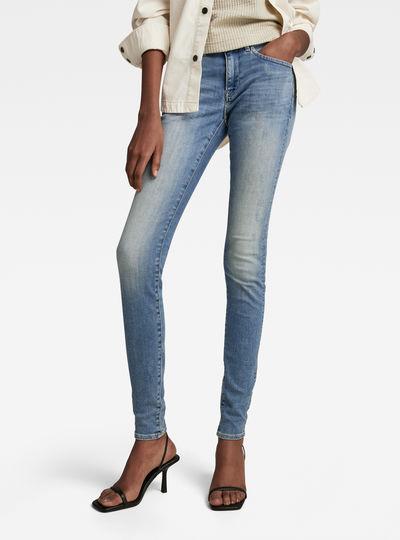 Midge Zip Mid SkinnyJeans