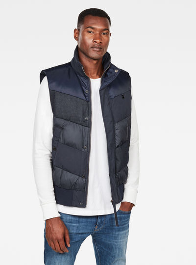 Ore Denim Mix Vest