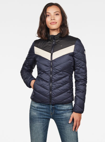 Alaska Padded Down Jacke