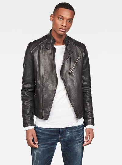 Suzaki Leather Jacke