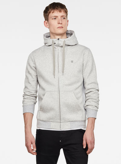 Premium Core Hooded Zip Sweatshirt