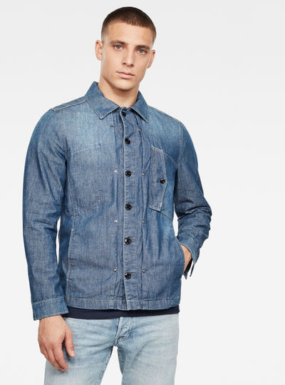 Scutar Denim Indoor Jacket